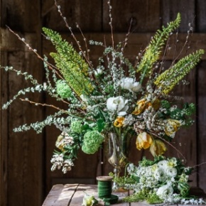 Example Seasonal Vase - We Are Currently Updating. Please Call Us For Current Availablility..