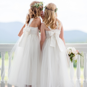 WellWed Maine + New Hampshire — Rodeo & Co. Photography and Emily Herzig: Flower Girls In White