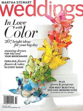 Martha Stewart Weddings – Winter 2009