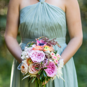 Hey Wedding Lady — Elegant Farm Wedding In Pastels And Gold Glitter
