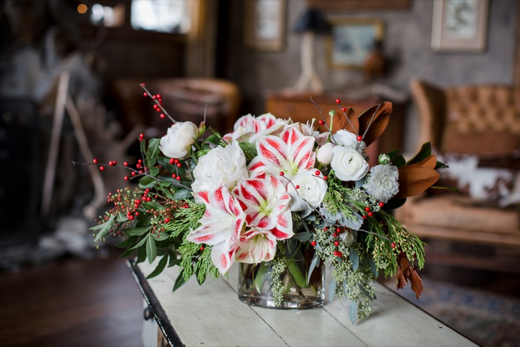 Emily Herzig Floral - Holiday Centerpiece