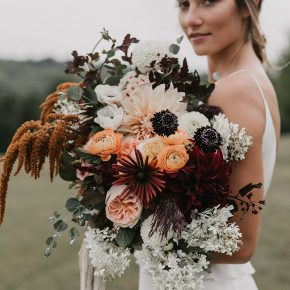 Magnolia Rouge — Cosy New Hampshire Weekend Away Wedding Shoot